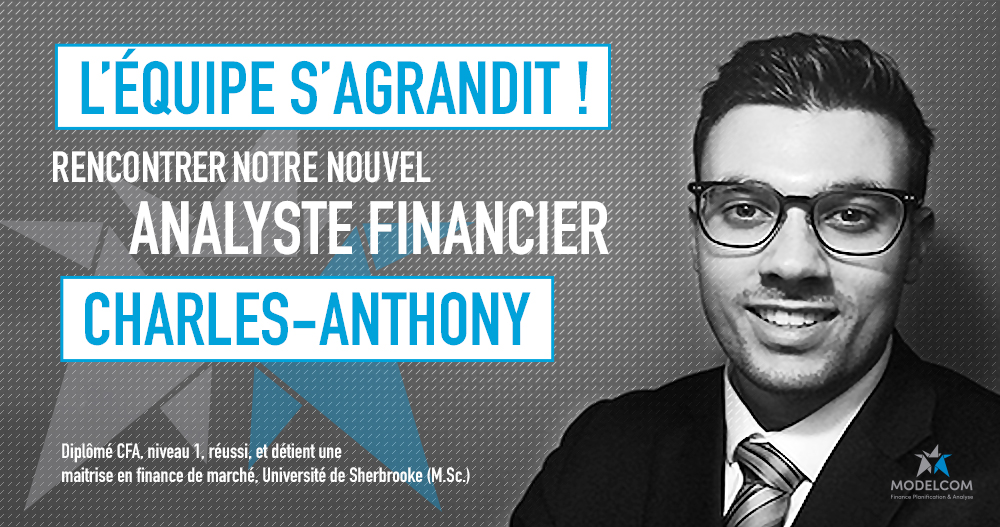 Charles-Anthony, Analyste financier